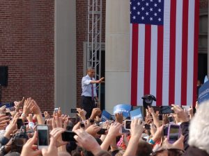 Betty Reed Obama fan Vote Politics